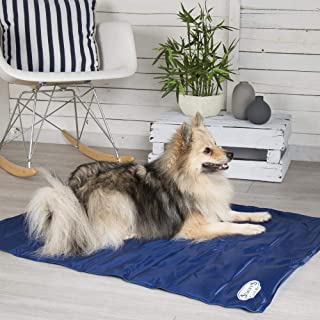 Scruffs Cooling Mat for Dogs, Large, Blue