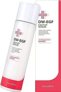 Easydew DW-EGF Easyup Essence 5.07 fl oz - Award-Winning Anti Aging Toner with Human Epidermal Growth Factor - Naturally Produce Collagen to Rejuvenate & Regenerate Cells
