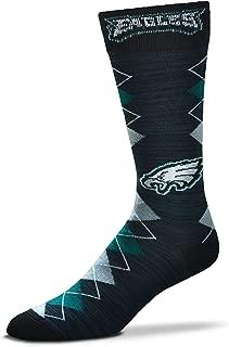 NFL Fan Nation Crew Socks One Size Fits Most - Philadelphia Eagles