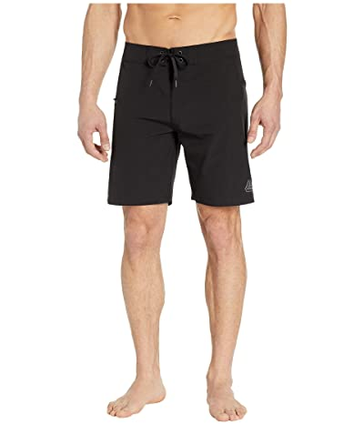 Prana Fenton 8 Boardshorts (Black) Men