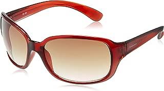 Fastrack Oversized Women's Sunglasses (P101BR2|59|Brown)