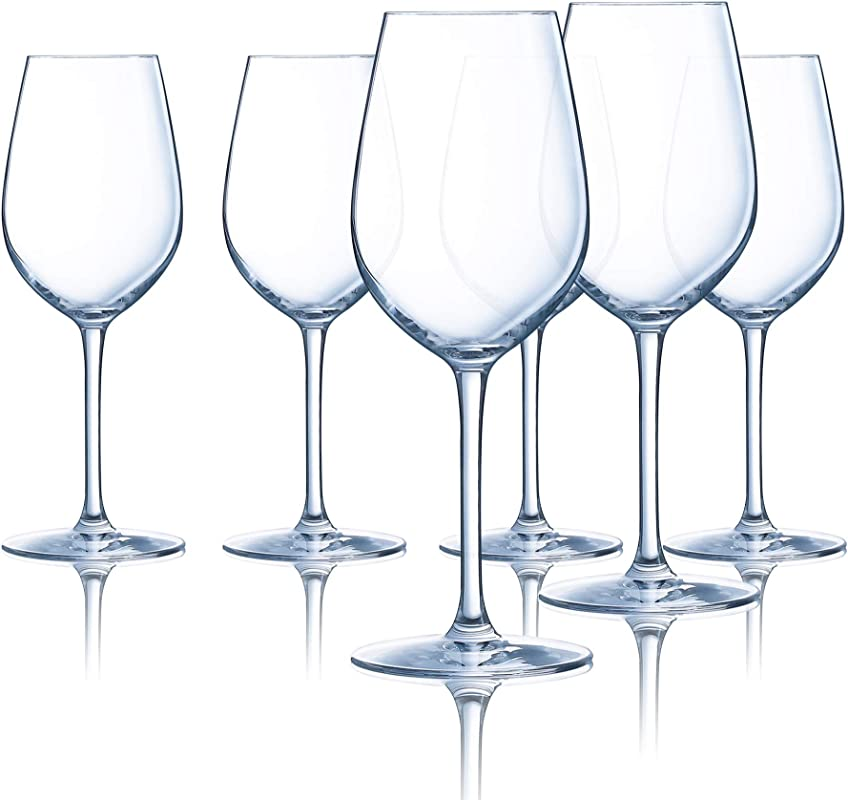 Chef Sommelier L9234 Domaine 16 Ounce All Purpose Tulip Wine Glass Set Of 6 16 Oz Clear