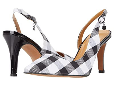 J. Renee Yusra (Black/White Gingham) Women
