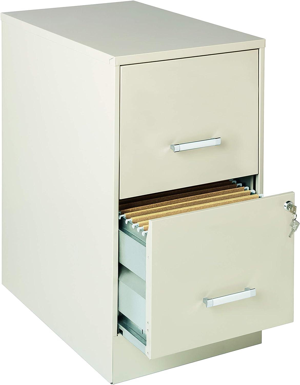 Lorell SOHO 22  2-Drawer File Cabinet