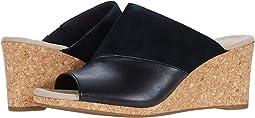 Black Suede/Leather Combi