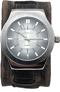 VXB331K ネメシス 腕時計 ヴィンテージ X カフ レザーバンド