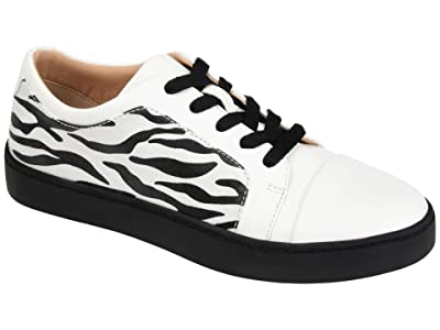 Journee Collection Comfort Foam Taschi Sneakers (Zebra) Women