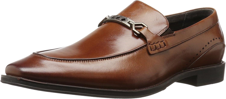 STACY ADAMS Men's Deluxe Lindford Moc Bit Slip-on Loafer Toe Max 48% OFF Penny