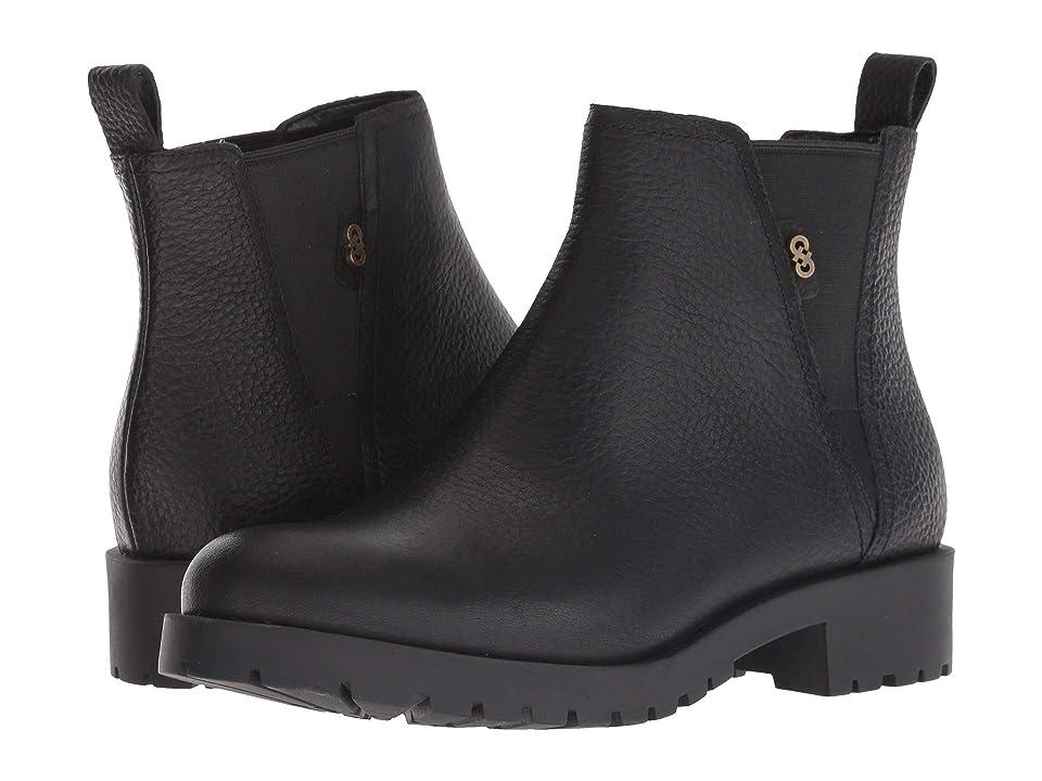 Cole Haan Calandra Waterproof Bootie (Black Waterproof Leather) Women