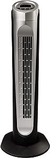 HOLMES HTF3222A-STM Tower Fan, 32 inch, Black