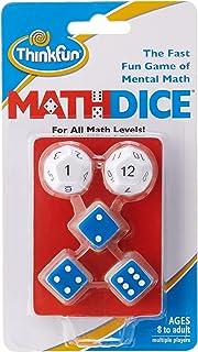 ThinkFun Math Dice Mental Math Game