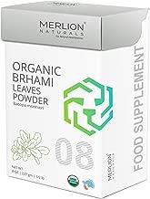 Organic Brahmi Leaves Powder by Merlion Naturals   Bacopa monnieri   227gm/ 8OZ/ 1/2lb   USDA NOP Certified 100% Organic