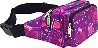 VGRISE Fanny Packs for Women & Men Waist Bag Pack Chest Shoulder Bag Tool Kit with Headphone Jack and Adjustable Strap for Outdoors Sport Workout Traveling Casual Running Hiking Cycling Gym