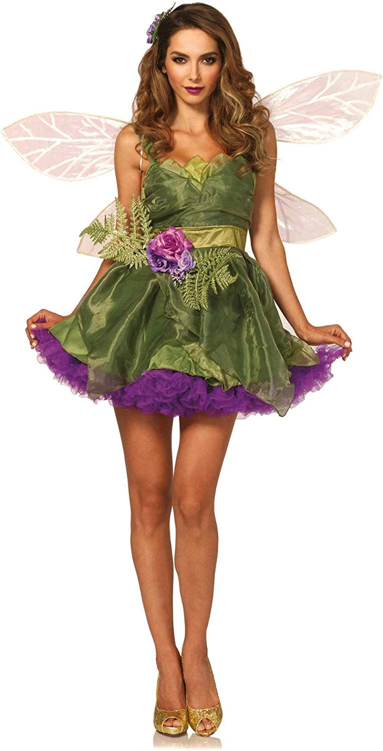 KULTFAKTOR GmbH Magic Fairy Green Elf Nurse Costume