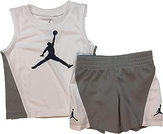 Jordan Air Boy`s T-Shirt and Shorts 2 Piece Set