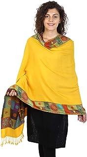 Anekaant Viscose Rayon Woven Design Shawl