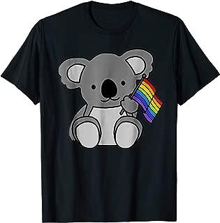 Rainbow Flag Koala - Cute Gay Pride LGBT Shirt