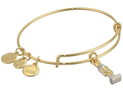 Alex and Ani Charity By Design, Nutcracker Bangle Bracelet, Two-Tone (Shiny Gold) Bracelet