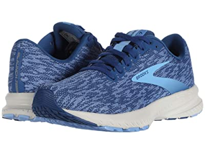 Brooks Launch 7 (Blue/Dazzling Blue/Cornflower) Women