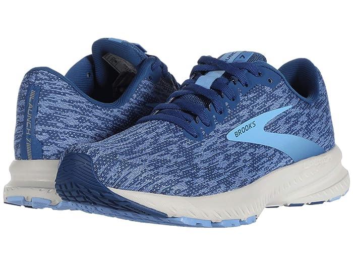 Brooks  Launch 7 (Blue/Dazzling Blue/Cornflower) Womens Running Shoes