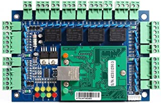 Professional 4 Doors TCP/IP Network Wiegand 26/34 bit Access Control Board Panel Access Controller