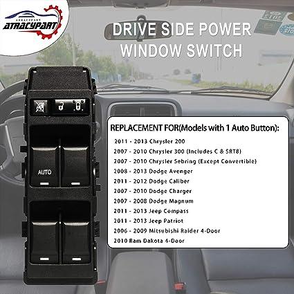 For Chrysler 200 300 RAM Dodge Avenger Window Switch Front Right ...