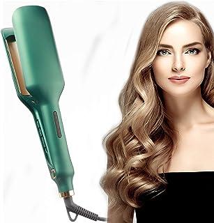 Hair Waver Iron, Anti-Scald Hair Crimper Iron , Ceramic Hair Crimpers and Wavers with 5 Temperatures 266℉-410℉ , Crimper H...