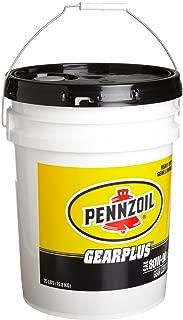Pennzoil 4964 Gearplus 80W-90 GL-5 Gear Oil - 35 Pound Pail