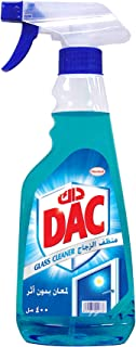 DAC Glass and Window Cleaner Trigger Spray - Spotless Shining (400 ml) For Glass, Windows, Mirrors, Tiles, Counters and Ot...