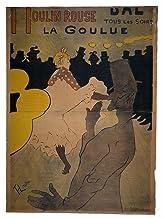 Spiffing Prints Henri Toulouse Lautrec - Moulin Rouge - Extra Large - Semi Gloss - Black Frame