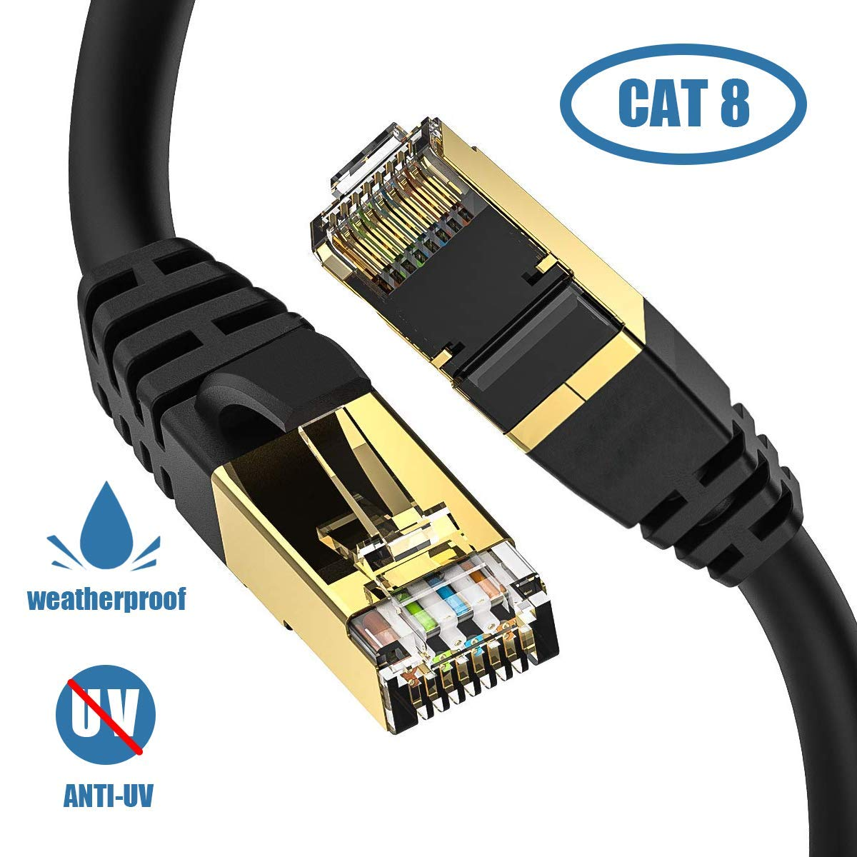 Ethernet Outdoor Connector Weatherproof Resistant