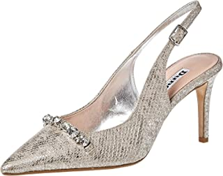 Dune London Declare Di Occasion Shoes For Women,Silver,38 EU