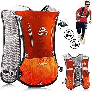 ALLYAOFA Lightweight Running Hydration Backpack, 5L 190g Running Hydration Vest for Women and Men Cycling Running Climbing...