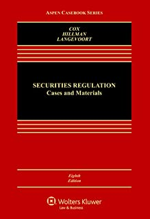 Best securities regulation cases and materials Reviews
