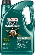 Best Castrol 03057 GTX MAGNATEC 5W-30 Full Synthetic Motor Oil, Green, 5 Quart Reviews