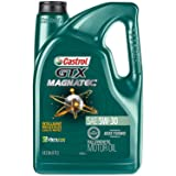 Castrol 03057 GTX MAGNATEC 5W-30 Full Synthetic Motor Oil, 5 QuartCastrol 03057 GTX MAGNATEC 5W-30 Full Synt… by Castrol