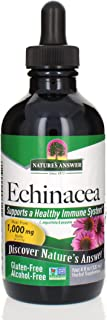 Nature's Answer Echinacea   4 oz. Supports a Healthy Immune System   Non-GMO   Alcohol-Free, Gluten-Free, Vegan, Kosher Ce...