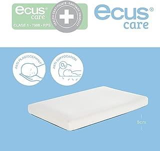 Ecus Care Kids, Colchón de Minicuna Ecus Care 80 x 50 cm es
