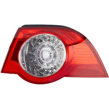 Hella 2va 009 246 101 Heckleuchte Led Glasklar Rot äusserer Teil Rechts Auto