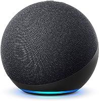 Nya Echo (4:e generationen), internationell version | Med premiumljud, smart home hub och Alexa | Grafitgrå | Svenskt...