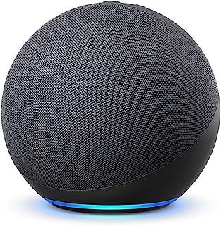 Nya Echo (4:e generationen), internationell version | Med premiumljud, smart home hub och Alexa | Grafitgrå | Svenskt språ...