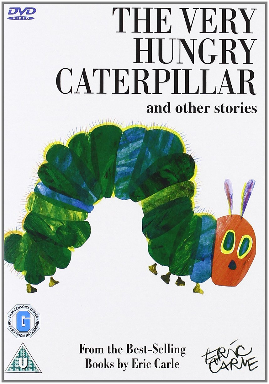 The Very Hungry Caterpillar and other stories by Eric Carle [DVD ...