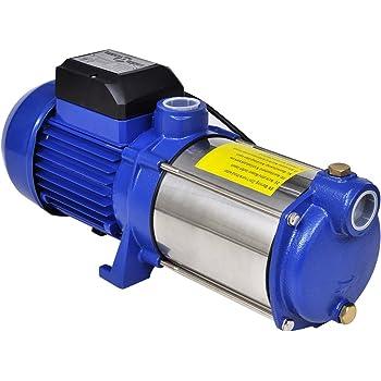 vidaXL Bomba inyectora azúl, uso doméstico, para el sistema del riego,1300 W,5100 L/h