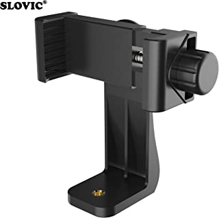 SLOVIC® Tripod Mount Adapter| Tripod Mobile Holder|Tripod Phone Mount| Smartphone Clip Clipper 360 Degree for Taking Magic Video Shots & Pictures.