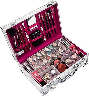 Enjovdery Conjunto de Paletas de Maquiagem para Presente   Kit de Maquiagem para Mulheres Kit Completo Cosmético Essencial...