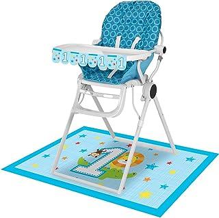 طقم كرسي مرتفع من كريتيف كونفيرتنج 324600، متعدد المقاسات، أبيض وأزرق