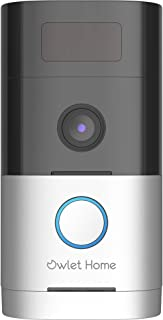 [Owlet Home] WiFi 1080P Full HD Camera, No Monthly Fee, Advanced Motion Detection, Real 2-Way Audio, Color Night Vision, M...