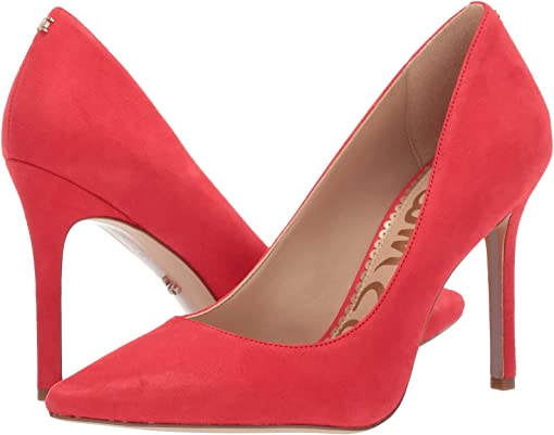 Coral Punch Suede Leather 1