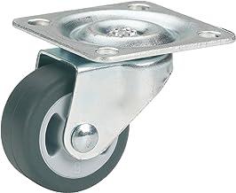 Dörner + helmer parketstuurrol (30 x 14 mm, Gl 2K-wiel) grijs, 790320