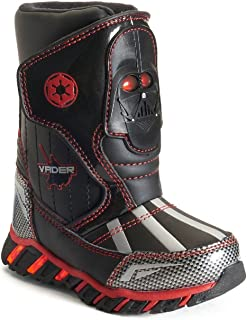 Star Wars Darth Vader Light-Up Toddler Boys' Cold Weather Boots